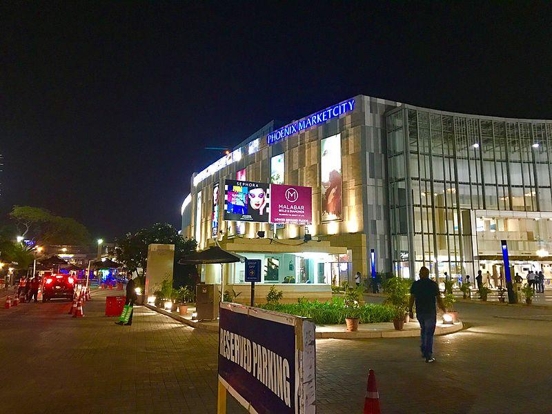 File:Night view of Phoenix market city.jpg Description English: Mall night view