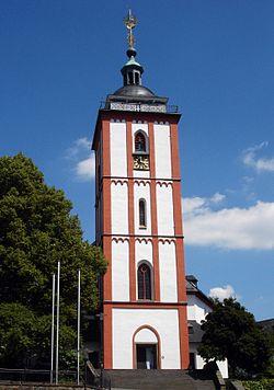 Nikolaikirche Turm Siegen