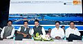 Nitin Gadkari, the Chief Minister of Maharashtra, Shri Devendra Fadnavis and other dignitaries, at the inauguration of the Upgraded Terminal Hall, at New Ferry Wharf (Bhaucha Dhakka), in Mumbai.jpg