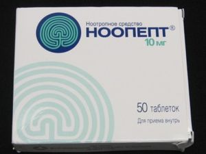 Omberacetam - Noopept Box Front