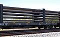 Norfolk Southern Railway welded rail train (north of Inaha, Georgia, USA) 2 (22511985813).jpg