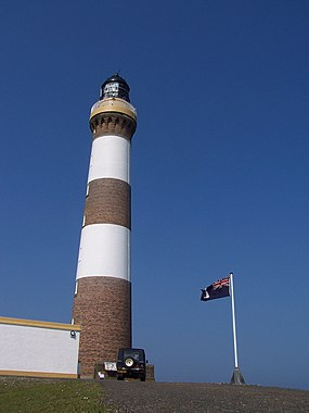 North Ronaldsay Lighthouse - geograph.org.uk - 1759322.jpg