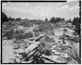 North side, looking south. - Adolfo Canyon Pueblito, Adolfo Canyon, Dulce, Rio Arriba County, NM HABS NM,20-DUL.V,1-6.tif
