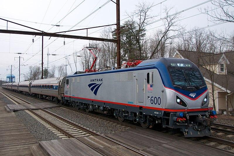 TS 2020: Amtrak Northeast Regional WAS-BAL (ft. AEM-7