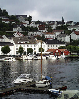 Tvedestrand (town) Town in Southern Norway, Norway