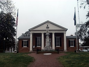 Nottoway County Courthouse - Nottoway County Courthouse, April, 2015