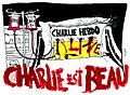 Nous sommes Charlie, par Audrey Dutillet - Les étudiants du CESAN rendent hommage.jpg