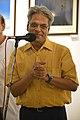 Nrisingha Prasad Bhaduri Addresses - Group Exhibition Inauguration - PAD - Kolkata 2016-07-29 5349.JPG