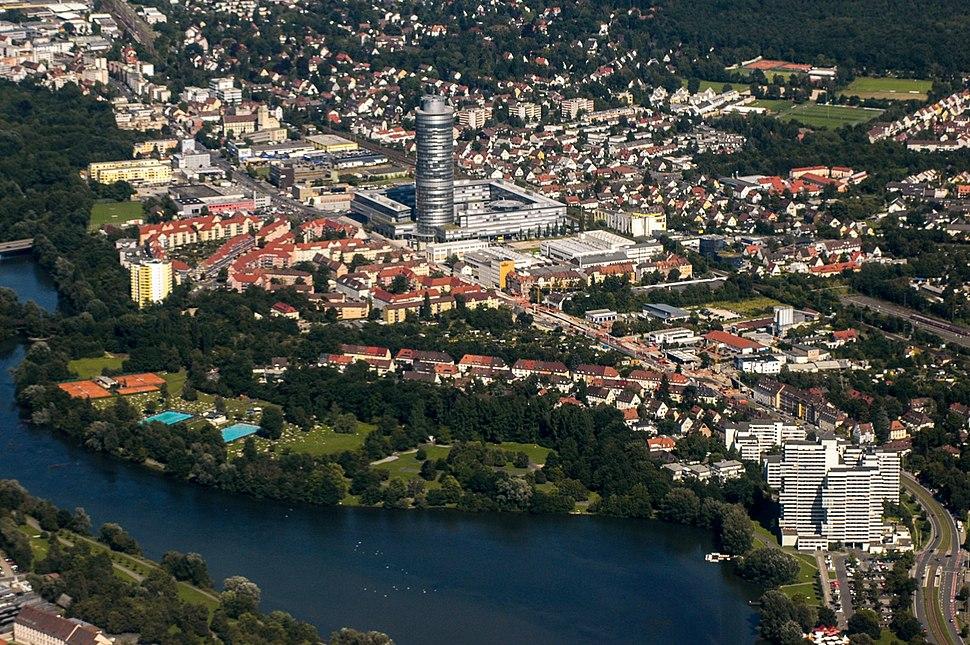 Nuremberg Aerial Tullnau Moegeldorf