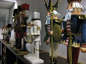Collecting - A collection of Nutcrackers