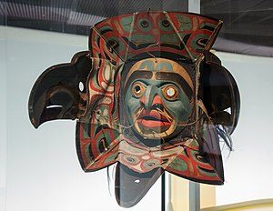 Nuxalk - Nuxalk transformation mask, 19th century