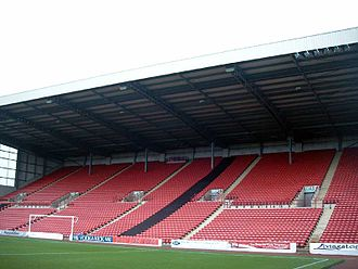 Oakwell - The North Stand