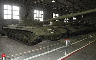 T-72 - Object 172 at the Kubinka Tank Museum
