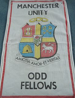 Independent Order of Oddfellows Manchester Unity fraternal order founded in Manchester