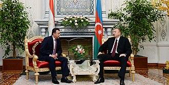 Kokhir Rasulzoda - Image: Official visit of Ilham Aliyev to Tajikistan 01