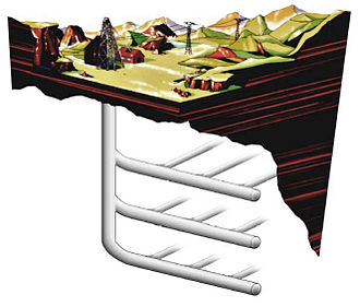 Shale oil extraction - Artist's rendition of a radio wave-based extraction facility