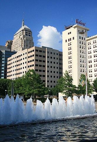 Neighborhoods of Oklahoma City - Downtown Oklahoma City.