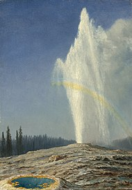 Old Faithful oil on paper 49.5x34.9cm 1881 Albert Bierstadt.jpg