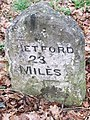 Old Milestone - geograph.org.uk - 1166721.jpg
