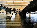 Old Railway bridge over Yarra River - panoramio.jpg