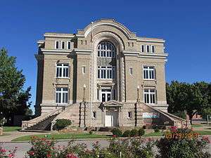Old Washington County Courthouse in Bartlesville.