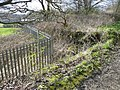 Old wall and new fence, Common Close Lane, Clifton - geograph.org.uk - 757640.jpg