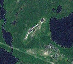 Olenegorsk radar -landsat.jpg