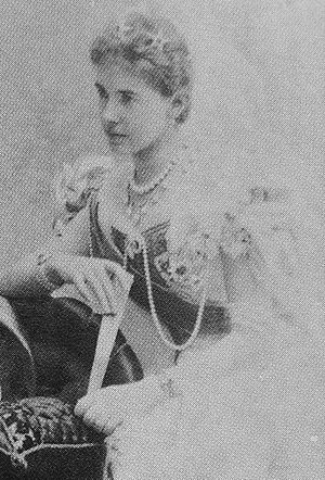 Duchess Olga of Württemberg - Duchess Olga of Württemberg, photograph 1896.