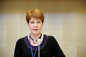 Ólína Þorvarðardóttir - Image: Olina Thorvardardottir, Island, Nordiska radets session i Stockholm 2009