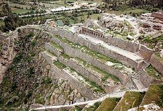 Ollantaytambo - Image: Ollantaytambo, Peru