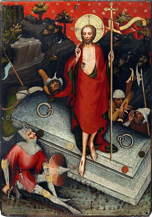 Oltář třeboňský, Zmrtvýchvstání Krista, Národní galerie v Praze