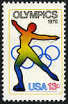 Olympic Games Skating 13c 1976 issue U.S. stamp.jpg