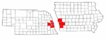 Omaha-Council Bluffs Metro Counties