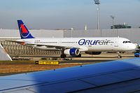 TC-OEA - A321 - Onur Air