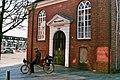 Op de ligfiets bij de Lutherse Kerk in Winschoten (26237260337).jpg