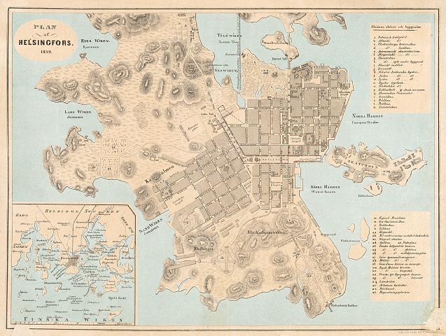 Helsinki Opaskartta