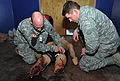 Operational Contract Support Joint Exercise 2015 tactical combat casualty care 150313-F-OG799-190.jpg