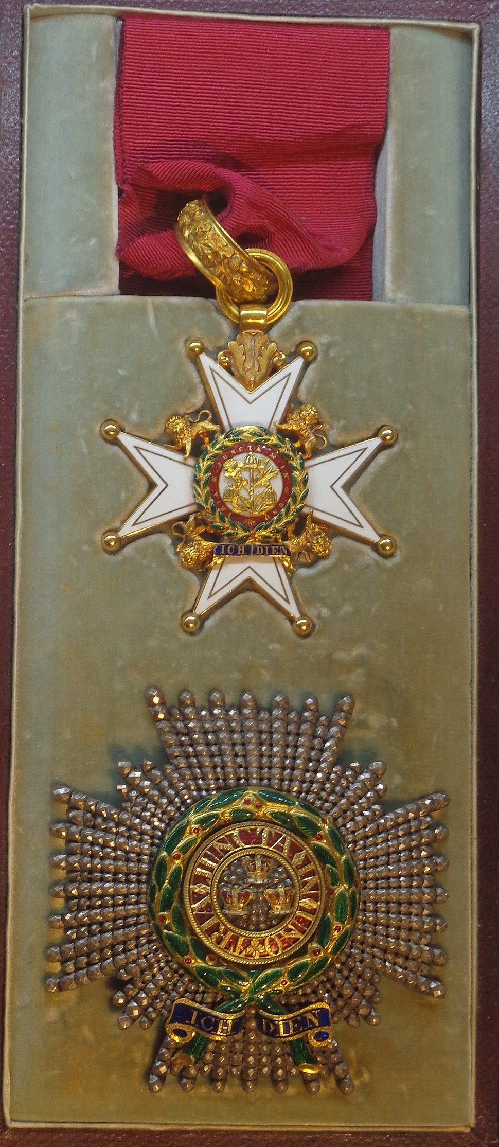 Order of the Bath knight commander military division insignias (United Kingdom) - Tallinn Museum of Orders