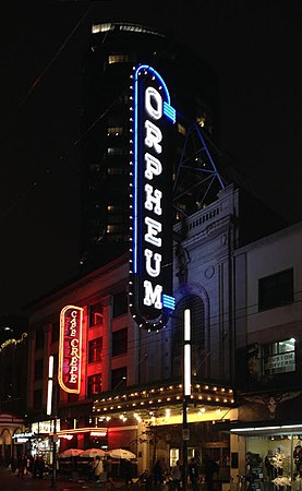 Orpheum Vancouver - Neon Sign at night 02.jpg