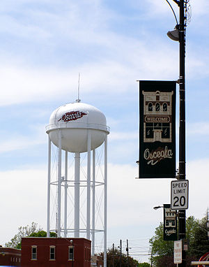 Osceola, Iowa - Image: Osceola Water Tower