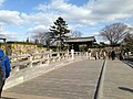 Otehashi Bridge of Himeji Castle.JPG