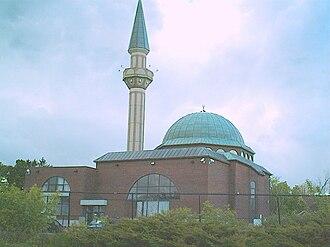 Islam in Canada - Grand Mosque in Ottawa.