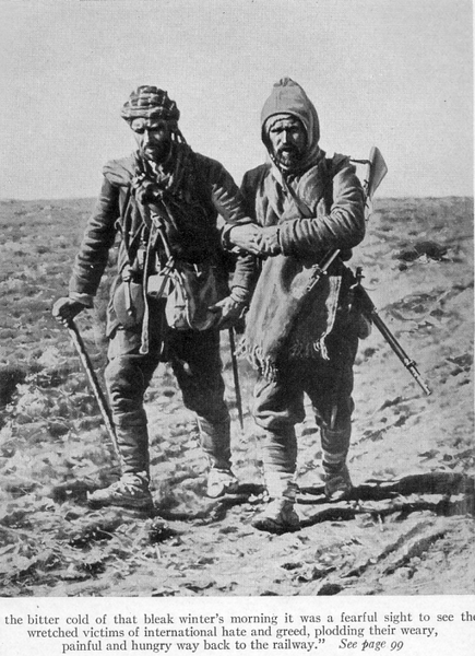 Fil:Ottoman soldiers after the First Balkan War.png