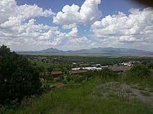 Overlooking Fort Huachuca (Old Post)