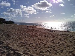 Sunset Beach at Sunset Beach Park on Oʻahu's North Shore
