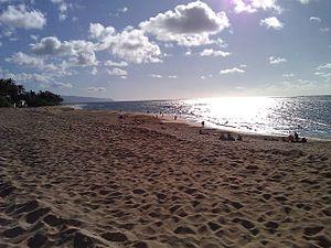 Pūpūkea, Hawaii - Sunset Beach in Pūpūkea