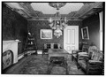 PARLOR, LOOKING SOUTHEAST - Captain Edward Penniman House, Fort Hill Road, Eastham, Barnstable County, MA HABS MASS,1-EAST,12-6.tif
