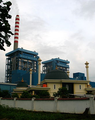 Cilacap Regency - Cilacap's power plant provides 600 megawatts of electricity