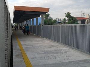 Cabuyao (PNR station) - Platform area of Cabuyao station