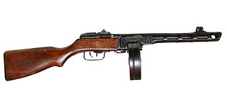 PPSh-41 Type of Submachine gun